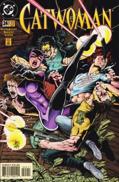 Catwoman #24 Comic Books - Covers, Scans, Photos  in Catwoman Comic Books - Covers, Scans, Gallery