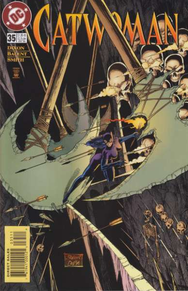 Catwoman #35 comic books - cover scans photos Catwoman #35 comic books - covers, picture gallery