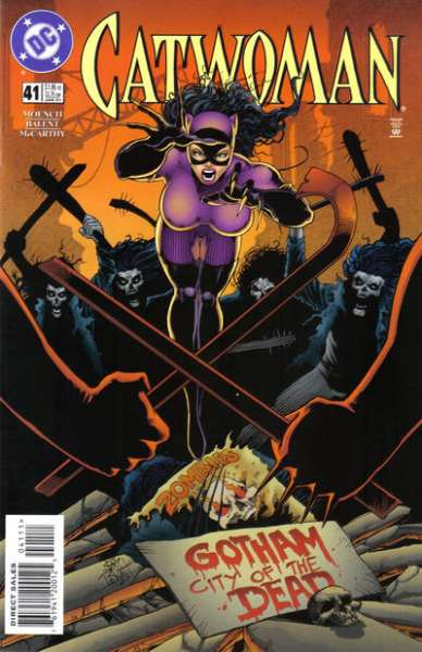Catwoman #41 comic books - cover scans photos Catwoman #41 comic books - covers, picture gallery