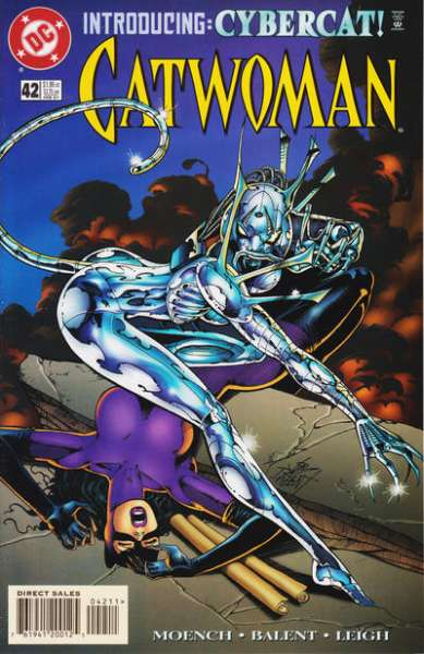 Catwoman #42 comic books - cover scans photos Catwoman #42 comic books - covers, picture gallery