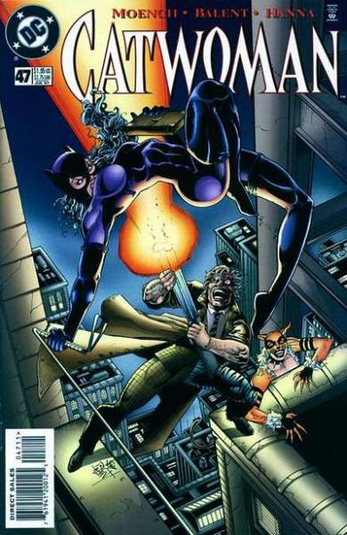 Catwoman #47 Comic Books - Covers, Scans, Photos  in Catwoman Comic Books - Covers, Scans, Gallery