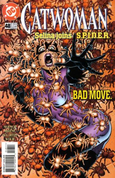 Catwoman #48 Comic Books - Covers, Scans, Photos  in Catwoman Comic Books - Covers, Scans, Gallery