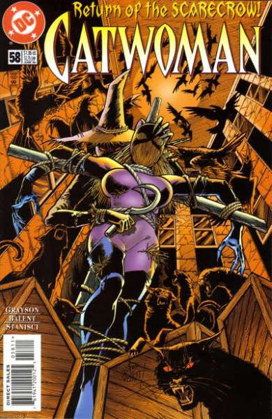 Catwoman #58 Comic Books - Covers, Scans, Photos  in Catwoman Comic Books - Covers, Scans, Gallery