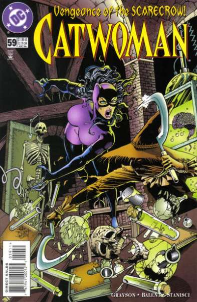 Catwoman #59 comic books - cover scans photos Catwoman #59 comic books - covers, picture gallery