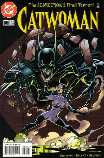 Catwoman #60 Comic Books - Covers, Scans, Photos  in Catwoman Comic Books - Covers, Scans, Gallery