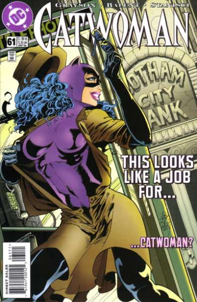 Catwoman #61 Comic Books - Covers, Scans, Photos  in Catwoman Comic Books - Covers, Scans, Gallery
