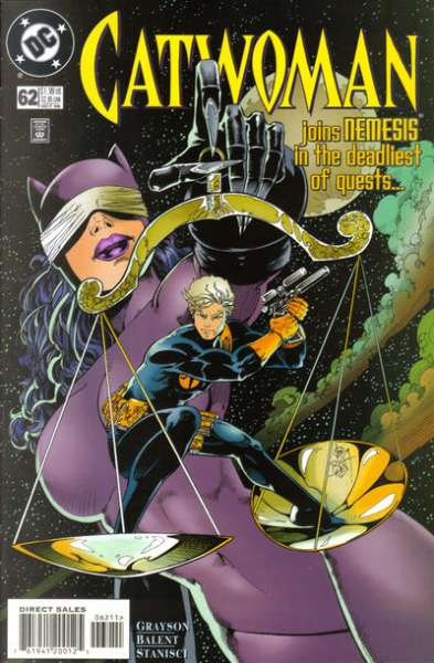Catwoman #62 Comic Books - Covers, Scans, Photos  in Catwoman Comic Books - Covers, Scans, Gallery