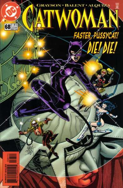 Catwoman #68 Comic Books - Covers, Scans, Photos  in Catwoman Comic Books - Covers, Scans, Gallery