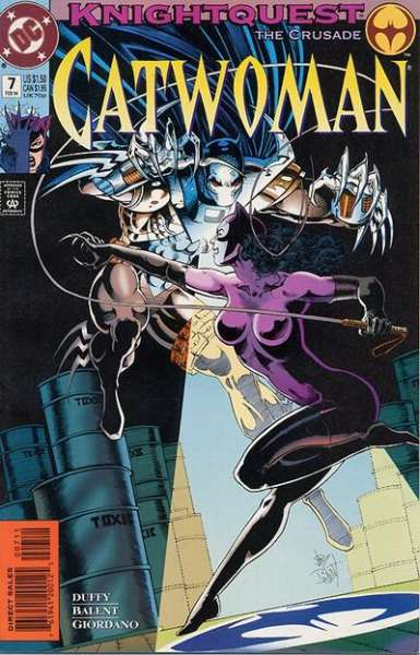 Catwoman #7 comic books - cover scans photos Catwoman #7 comic books - covers, picture gallery