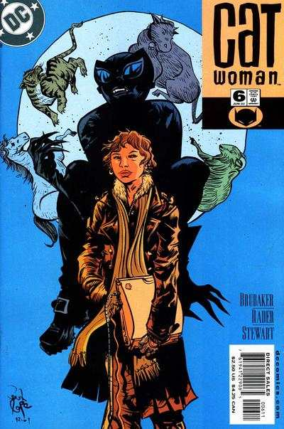Catwoman #6 comic books - cover scans photos Catwoman #6 comic books - covers, picture gallery