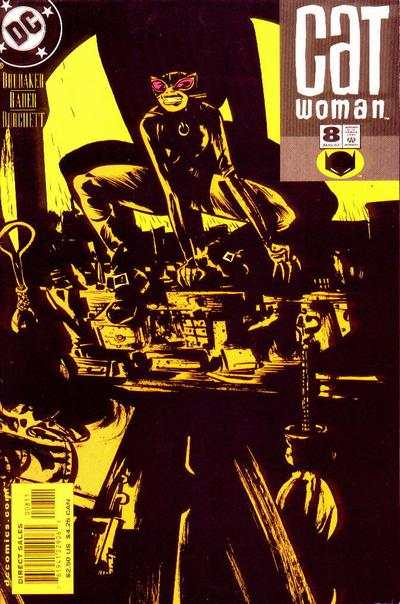 Catwoman #8 comic books - cover scans photos Catwoman #8 comic books - covers, picture gallery