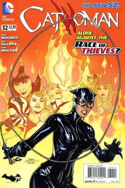 Catwoman #32 Comic Books - Covers, Scans, Photos  in Catwoman Comic Books - Covers, Scans, Gallery