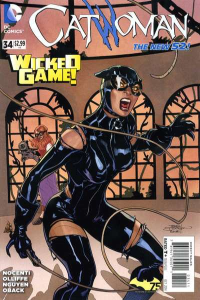 Catwoman #34 Comic Books - Covers, Scans, Photos  in Catwoman Comic Books - Covers, Scans, Gallery
