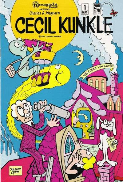 Cecil Kunkle comic books