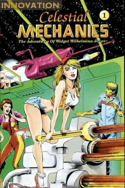 Celestial Mechanics: The Adventures of Widget Wilhelmina Jones #1 Comic Books - Covers, Scans, Photos  in Celestial Mechanics: The Adventures of Widget Wilhelmina Jones Comic Books - Covers, Scans, Gallery