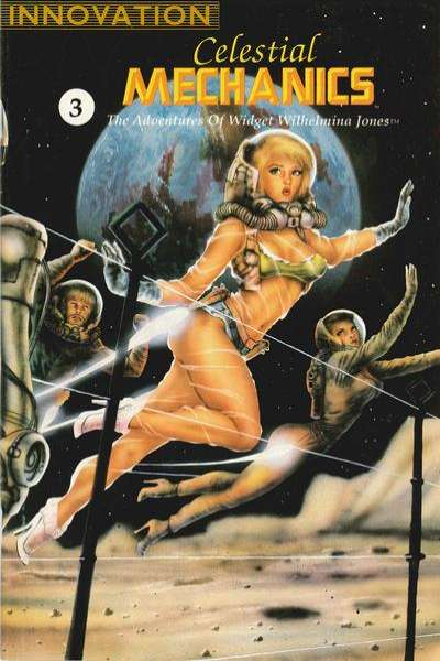 Celestial Mechanics: The Adventures of Widget Wilhelmina Jones #3 Comic Books - Covers, Scans, Photos  in Celestial Mechanics: The Adventures of Widget Wilhelmina Jones Comic Books - Covers, Scans, Gallery