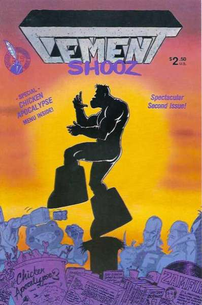 Cement Shooz #2 comic books - cover scans photos Cement Shooz #2 comic books - covers, picture gallery