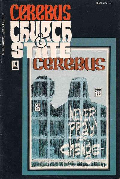 Cerebus: Church & State #14 Comic Books - Covers, Scans, Photos  in Cerebus: Church & State Comic Books - Covers, Scans, Gallery