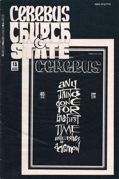 Cerebus: Church & State #15 Comic Books - Covers, Scans, Photos  in Cerebus: Church & State Comic Books - Covers, Scans, Gallery