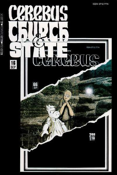 Cerebus: Church & State #16 Comic Books - Covers, Scans, Photos  in Cerebus: Church & State Comic Books - Covers, Scans, Gallery