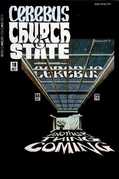 Cerebus: Church & State #18 Comic Books - Covers, Scans, Photos  in Cerebus: Church & State Comic Books - Covers, Scans, Gallery