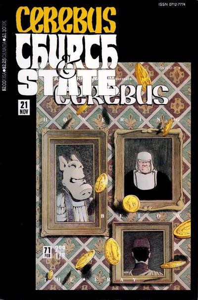 Cerebus: Church & State #21 comic books for sale