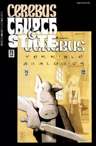 Cerebus: Church & State #25 Comic Books - Covers, Scans, Photos  in Cerebus: Church & State Comic Books - Covers, Scans, Gallery