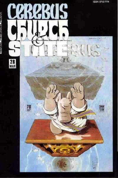 Cerebus: Church & State #28 Comic Books - Covers, Scans, Photos  in Cerebus: Church & State Comic Books - Covers, Scans, Gallery
