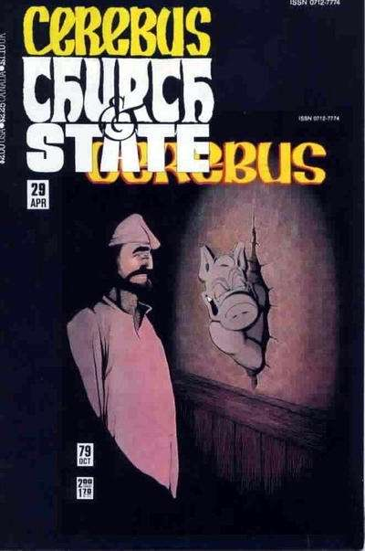 Cerebus: Church & State #29 Comic Books - Covers, Scans, Photos  in Cerebus: Church & State Comic Books - Covers, Scans, Gallery