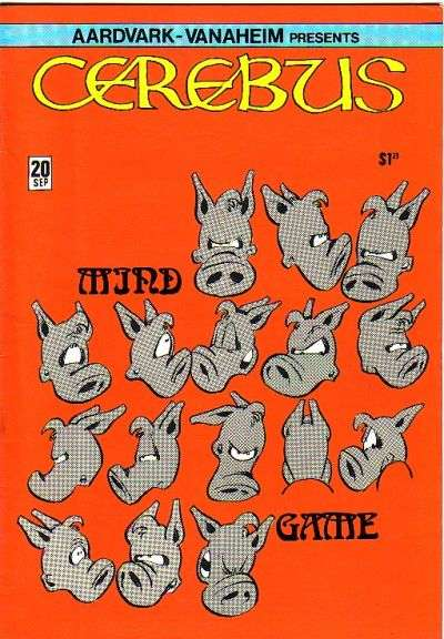 Cerebus the Aardvark #20 comic books for sale