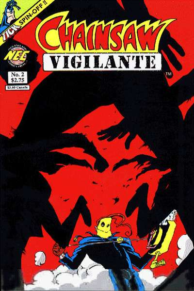 Chainsaw Vigilante #2 comic books - cover scans photos Chainsaw Vigilante #2 comic books - covers, picture gallery