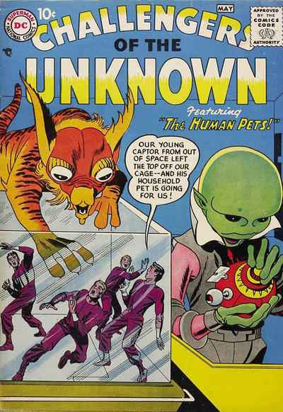Challengers Unknown comic books