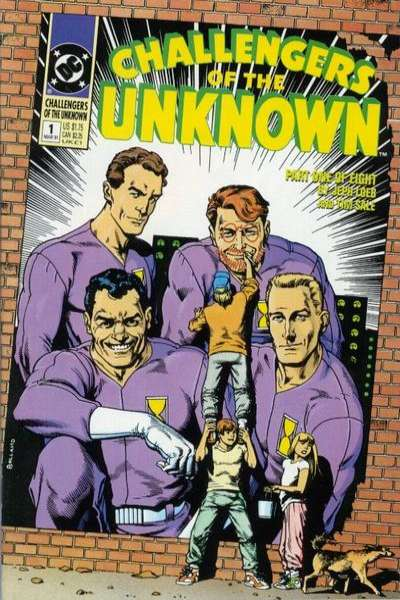 Challengers of the Unknown #1 Comic Books - Covers, Scans, Photos  in Challengers of the Unknown Comic Books - Covers, Scans, Gallery
