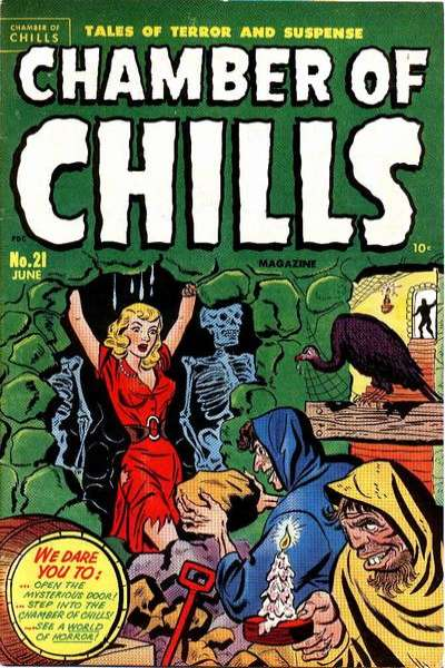 Chamber of Chills Comic Books. Chamber of Chills Comics.