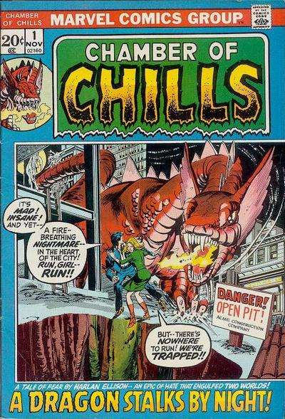 Chamber of Chills comic books