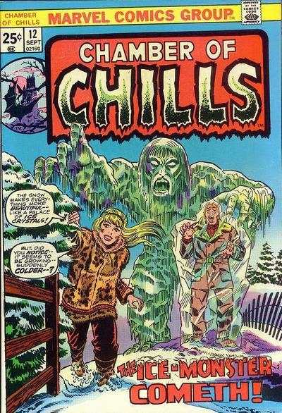 Chamber of Chills #12 Comic Books - Covers, Scans, Photos  in Chamber of Chills Comic Books - Covers, Scans, Gallery