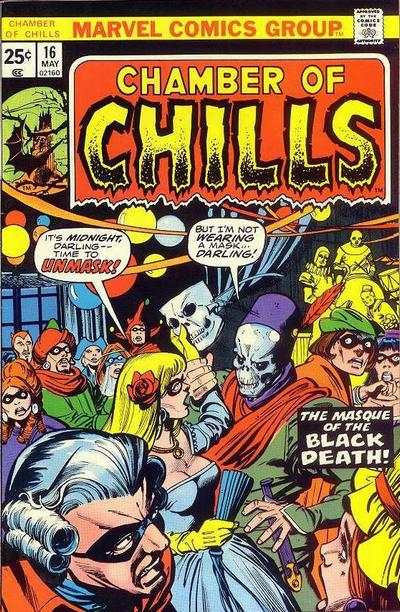 Chamber of Chills #16 Comic Books - Covers, Scans, Photos  in Chamber of Chills Comic Books - Covers, Scans, Gallery