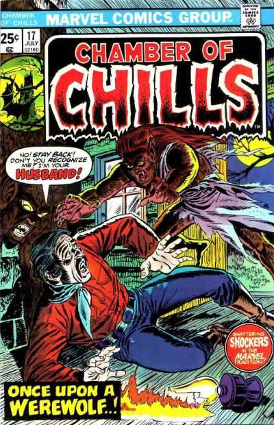 Chamber of Chills #17 Comic Books - Covers, Scans, Photos  in Chamber of Chills Comic Books - Covers, Scans, Gallery