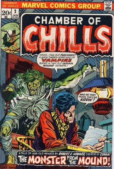 Chamber of Chills #2 Comic Books - Covers, Scans, Photos  in Chamber of Chills Comic Books - Covers, Scans, Gallery