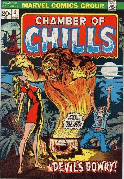 Chamber of Chills #5 comic books for sale