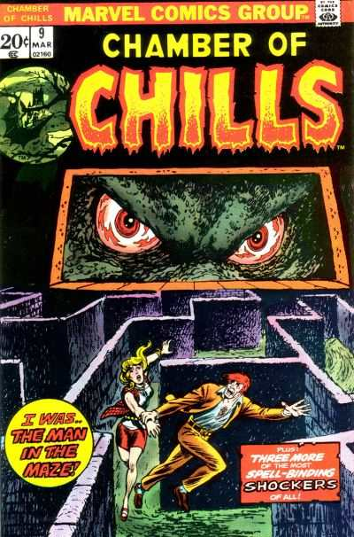 Chamber of Chills #9 Comic Books - Covers, Scans, Photos  in Chamber of Chills Comic Books - Covers, Scans, Gallery