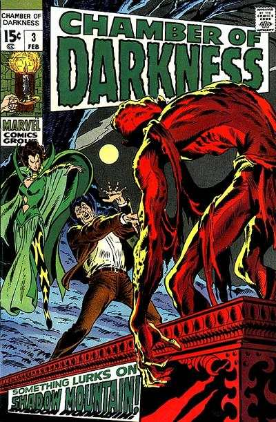Chamber of Darkness #3 comic books - cover scans photos Chamber of Darkness #3 comic books - covers, picture gallery