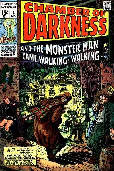 Chamber of Darkness #4 Comic Books - Covers, Scans, Photos  in Chamber of Darkness Comic Books - Covers, Scans, Gallery