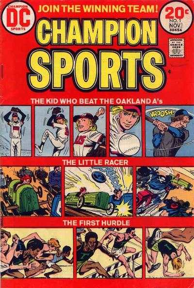 Champion Sports Comic Books. Champion Sports Comics.