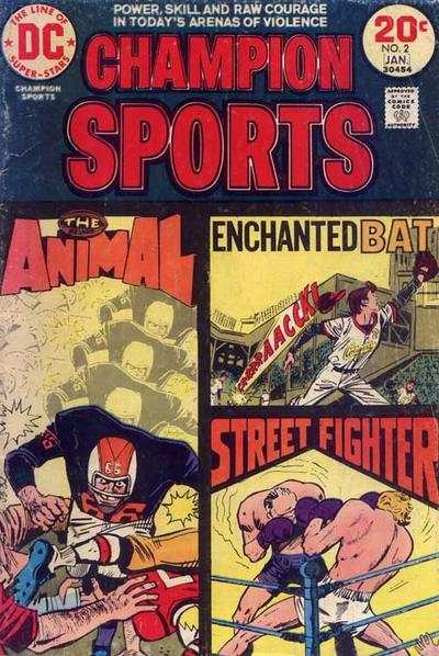 Champion Sports #2 comic books - cover scans photos Champion Sports #2 comic books - covers, picture gallery