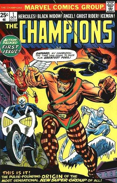 Champions comic books
