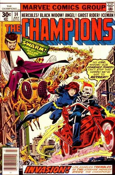 Champions #14 comic books - cover scans photos Champions #14 comic books - covers, picture gallery