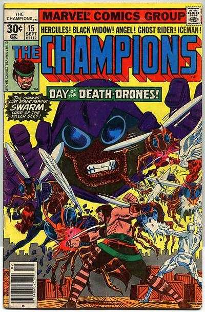 Champions #15 comic books - cover scans photos Champions #15 comic books - covers, picture gallery