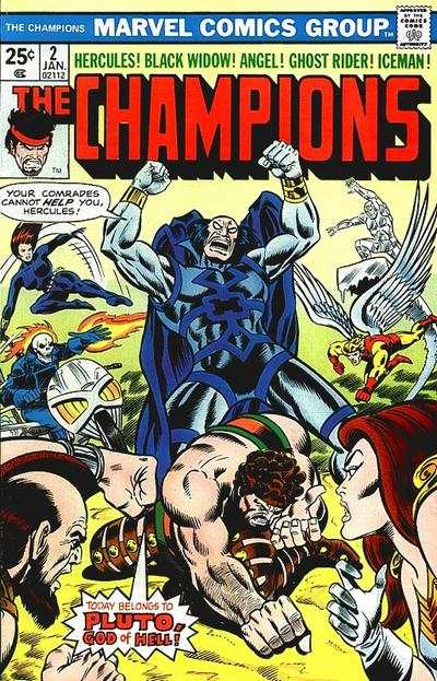 Champions #2 comic books - cover scans photos Champions #2 comic books - covers, picture gallery
