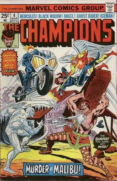 Champions #4 comic books for sale